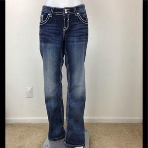 """Vigoss """"The Dallas"""" Boot Cut Jean-Size 14"""
